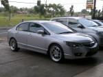 Civic + HRE454 R18x8 +9