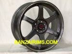 VELG TE37RT RING 18 X8-9 PCD 4X100-114,3 ET35-42