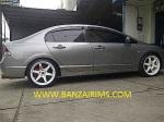 Civic VELG TE37 R.18 + acc