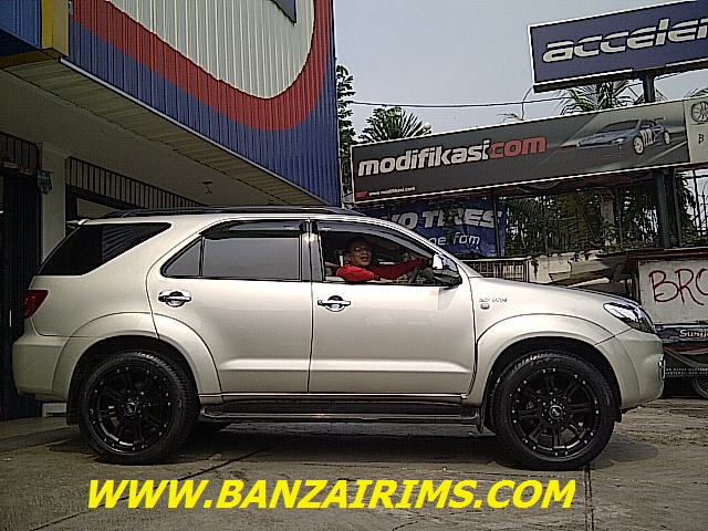 FORTUNER VELG OFF-ROAD REPTOR