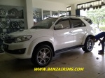 FORTUNER VELG RACING JF-LUXURY RING 20 + ban akselerasi