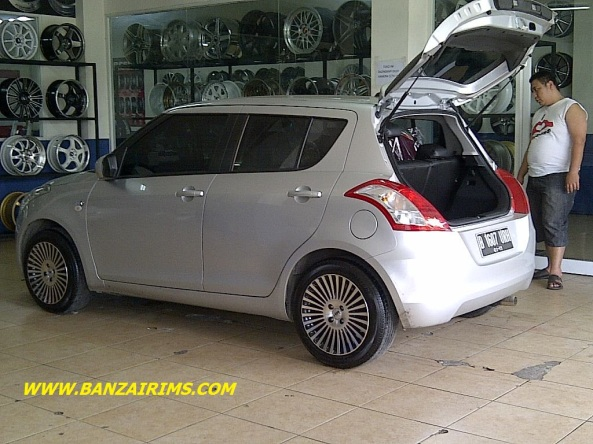 SUZUKI SWIFT VELG HSR RING 16 (2)