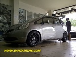 HONDA JAZZ RS VELG RING 17 VOSSEN CONCAVE (2)