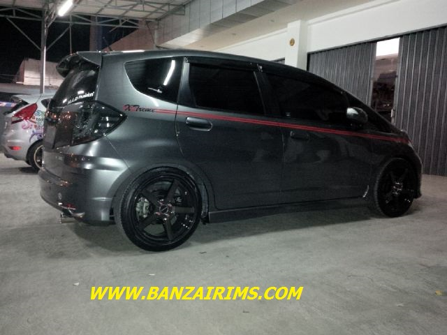 HONDA JAZZ VELG VOSSEN CV3 RING 17 + TOYO TIRES BY JAYAPOERA THANKS BOS !!! (1)