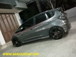 HONDA JAZZ VELG VOSSEN CV3 RING 17 + TOYO TIRES BY JAYAPOERA THANKS BOS !!! (2)